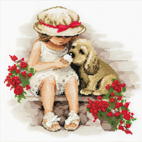 """Sweet Tooth Counted Cross Stitch Kit-11.75""""""""X11.75"""""""" 14 Count"""