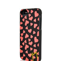 Juicy Plush Hearts Iphone 5 Case by Juicy Couture