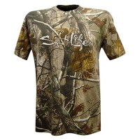 Salt Life Men's Short Sleeve Realtree Camo T-Shirt