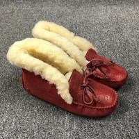 UGG Red Slippers ALENA Women Shoes 1004806