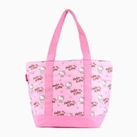 Hello Kitty Cooler Tote Bag: Hearts