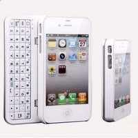 Cool New Sliding Bluetooth Wireless Keyboard Case For Iphone 5