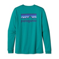 Patagonia Men's Long-Sleeved Line Logo T-Shirt