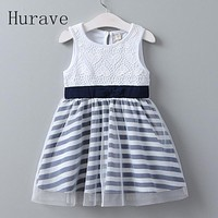 Girls dress new kids clothes children summer dress for toddlers clothing