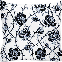 Flower Pattern Couch Pillow