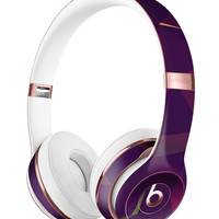 Purple and Orange Geometric Shapes Full-Body Skin Kit for the Beats by Dre Solo 3 Wireless Headphones
