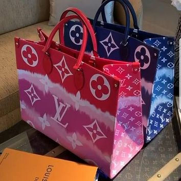 LV Louis Vuitton Hot Sale Classic Print Letters Ladies Handbag Shoulder Bag Shopping Bag