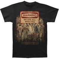 Walking Dead Men's  T-shirt Black