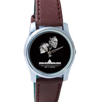 Hunt or Be Hunted Quote   House of Cards Inspired Wrist Watch