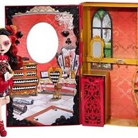 Ever After High Lizzie Hearts SPRING UNSPRUNG Book Playset With Doll - Brand New