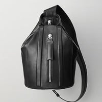 Rag & Bone - Aston Sling Backpack, Black Size 1