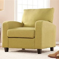 Kennedale Arm Chair in Apple Green - Southern Enterprises UP9111
