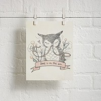 Unframed Love is in the Air Wall Art|The Land of Nod