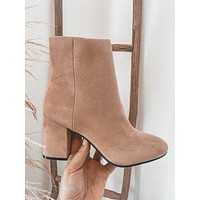 Malone Booties (Taupe)