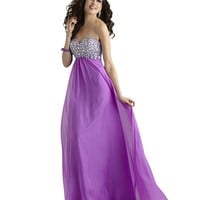 Sweetheart A-Line Long Prom and Bridesmaids Dress 2306