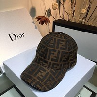 FENDI FF baseball hat