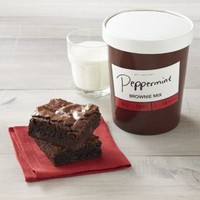 Peppermint Brownie Mix