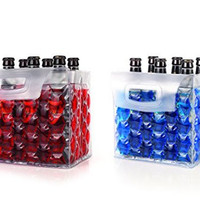 The Bottle Bubble Freeze Protector for Six Packs by True