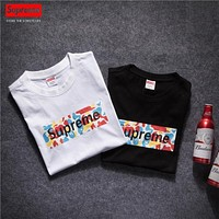 Supreme Hip Hop Box Logo Cotton Tshirt S Xl