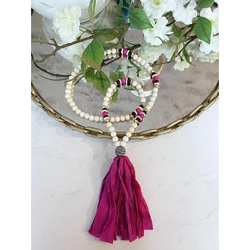 The Charlotte Tassel Necklace