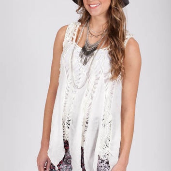 Gypsy Essentials Crochet Cover Up