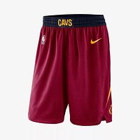 Men's Cleveland Cavaliers Nike Maroon Icon Swingman Basketball Shorts