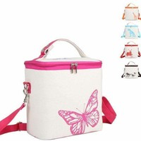 Baby Thermos bag Milk food Lunch Insulation Cup Bag Storage Waterproof tote Mummy Bag Cooler Beam Lunch Box Feeding Bottle Cover