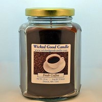 Glass Jar Candle - Fresh Coffee