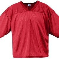 Augusta Sportswear 240 Adult's Tricot Mesh Jersey Red XX-Large