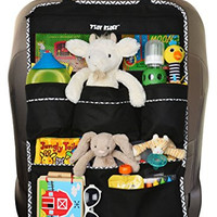 Premium Backseat Organizer for Kids, Cars - EXTRA Large Size, Kids' Accessory, Car Seat Protector - Kick Mat, Made of Durable Material ON SALE TODAY! (Extra Large)