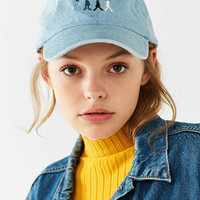 The Beatles Abbey Road Denim Baseball Hat | Urban Outfitters