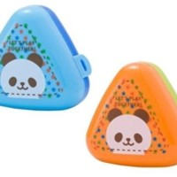 Daiso Japan Online Store - Rice ball case, jolly panda, 2 pHs ,10pks