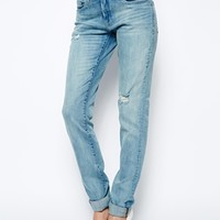 Blank NYC Boyfriend Jeans With Ripped Knee