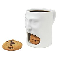 Face Cup With Cookie Holder