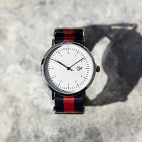 Cheapo Harold Nylon Watch- Navy One