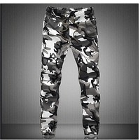 Camouflage Military Jogger Pants Men 2018 Pure Cotton Mens Spring Autumn Pencil Harem Pant Men Comfortable Trousers Camo Joggers
