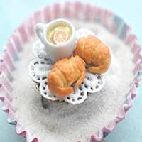 croissants and tea ring