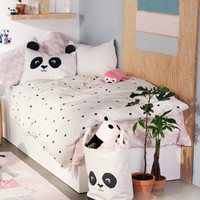 Dot-print Duvet Cover Set - from H&M