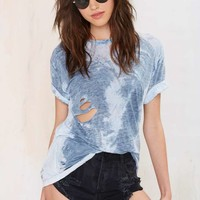 After Party Vintage Don't Stop Distressed Tee