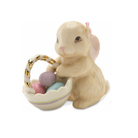 Lenox® Bunny's Basket of Eggs Figurine