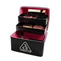 2017 Large Capacity Solid Portable 3 Layers Waterproof 3ce Cosmetic Bag Case Professional Make Up Box 8 Colors Available