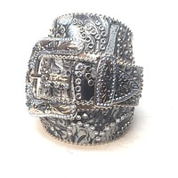 "B.B. Simon """" Swarovski Crystal Belt"