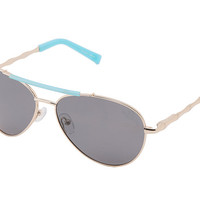Lilly Pulitzer Paley Polarized Gold/Turquoise - Zappos.com Free Shipping BOTH Ways