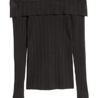 H&M Off-the-shoulder Sweater $14.99