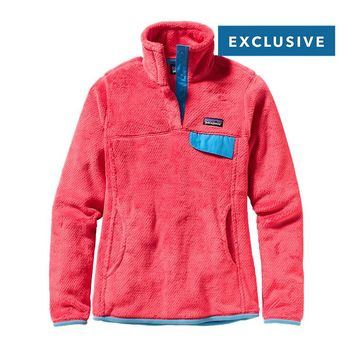 Patagonia Women's Re-Tool Snap-T® Fleece Pullover   Ginger Berry - Ginger Berry X-Dye