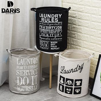 SDARISB Laundry Bathroom Kids Dirty Laundry Bag Basket Big Toy Storage Bath Basket Oxford Cloth Polyester Household Products