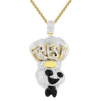 Men's Fresh Dough Boy Custom Chef  Pendant Chain