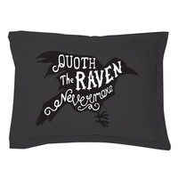 Quoth the Raven Pillow Shams