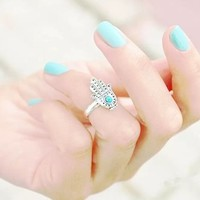 Hamsa Ring (Midi or Normal) from Now and Again Co.