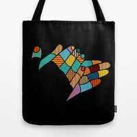 clap your hands Tote Bag by SpinL